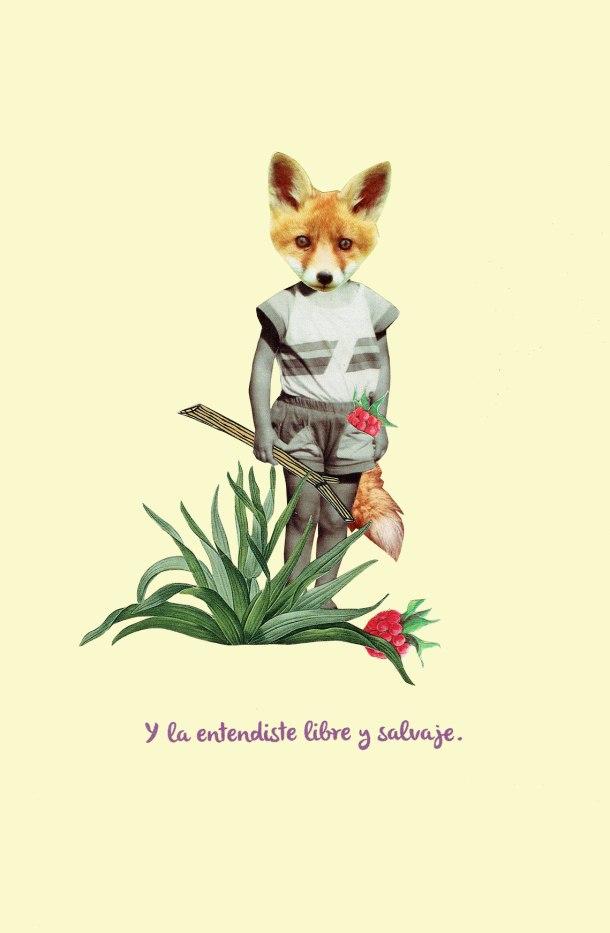 Tijeras y poemas - Libre y salvaje