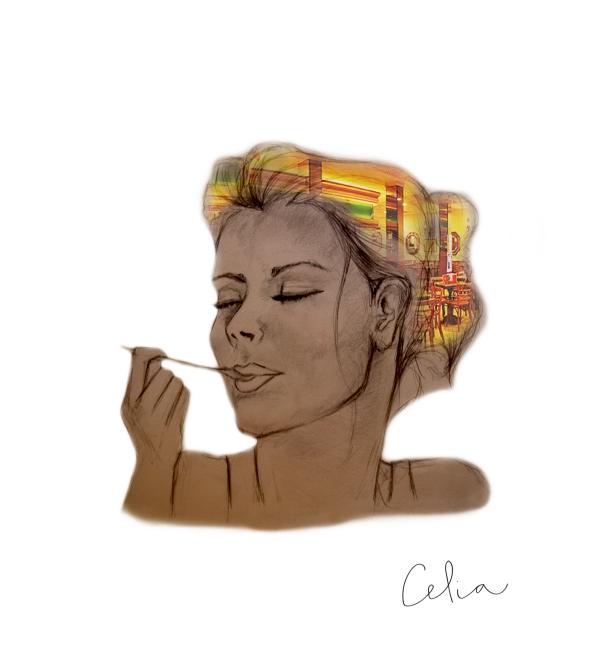 © Celia López Bacete - cafetería
