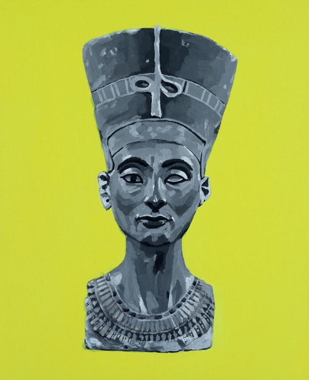© Juan Dormitorio - Hieráticas. Nefertiti
