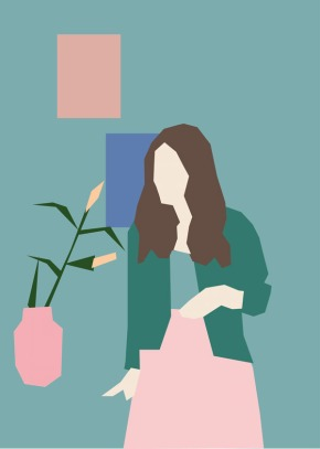 Helena Ravenne, minimalismoilustrado