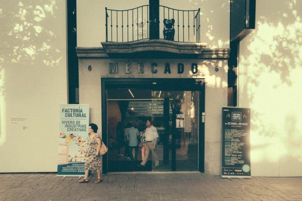 Cultura Inquieta '17. Espacio Mercado de Getafe - Foto © Natalia Romay