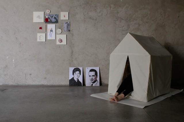© Alessandra Aiello - I RINCUORI, installation, 2017