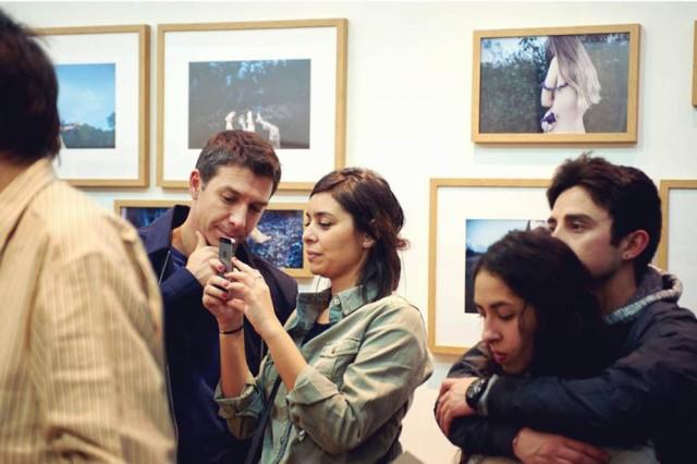 """Inauguración """"The Muses"""" en la Galería Fifty Dots de Barcelona."""