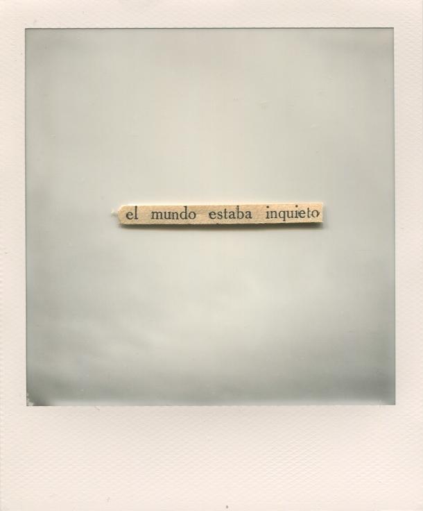© Natalia Romay - El mundo estaba inquieto