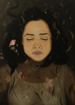 Daniela F. Cortéz, pintar con elcorazón