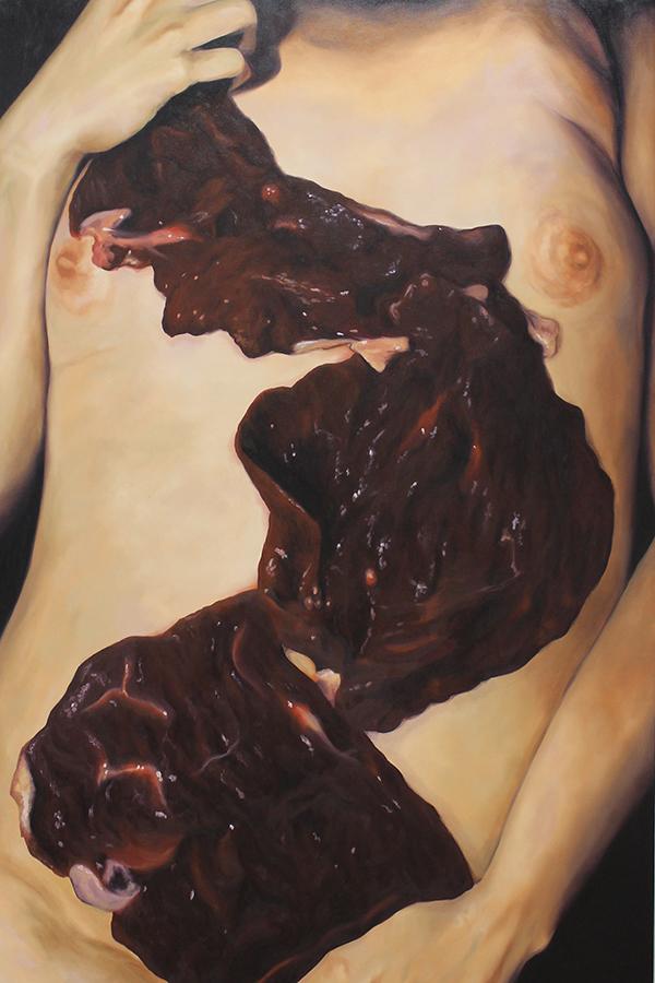© Daniela F. Cortéz - De la serie Rojo y Negro, 2015