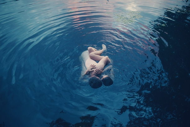 "© Irene Cruz - De la serie ""Drowning in Blue"""