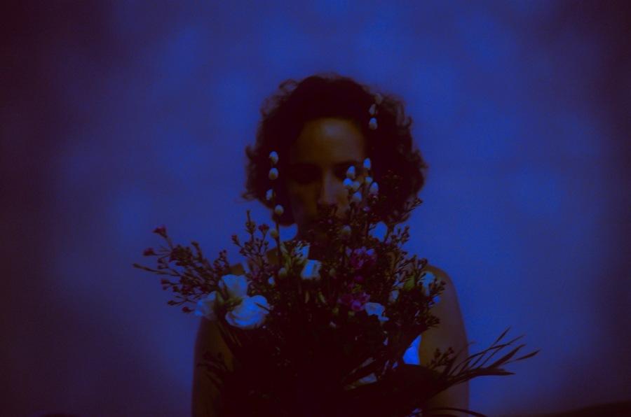 © Virginia Palomares - Bouquet bleu