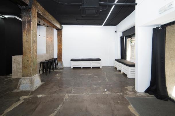 Espacio donde se desarrollará la 2ª edición de EnamorArte Art Market. C/ Del Infante, 3. Madrid