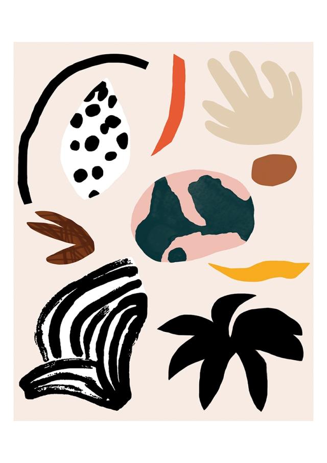 © Sylvia Takken - Playful nature shapes