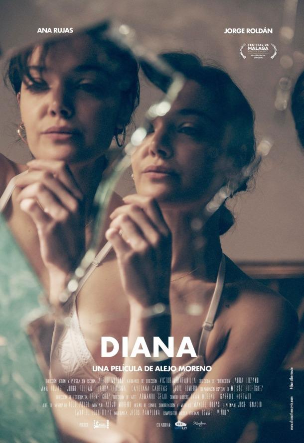 Diana, película de la que Irene Cruz es Directora de fotografía