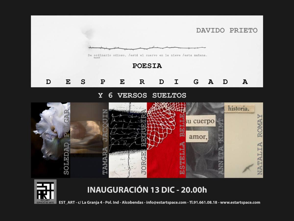 Poesía Desperdigada y 6 Versos Sueltos, una colectiva de imagen y palabra