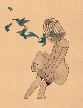 Irina Hirondelle, inspiracióntribal