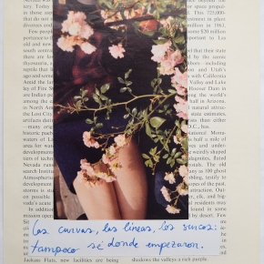 Elena Pardo, por amor alcollage
