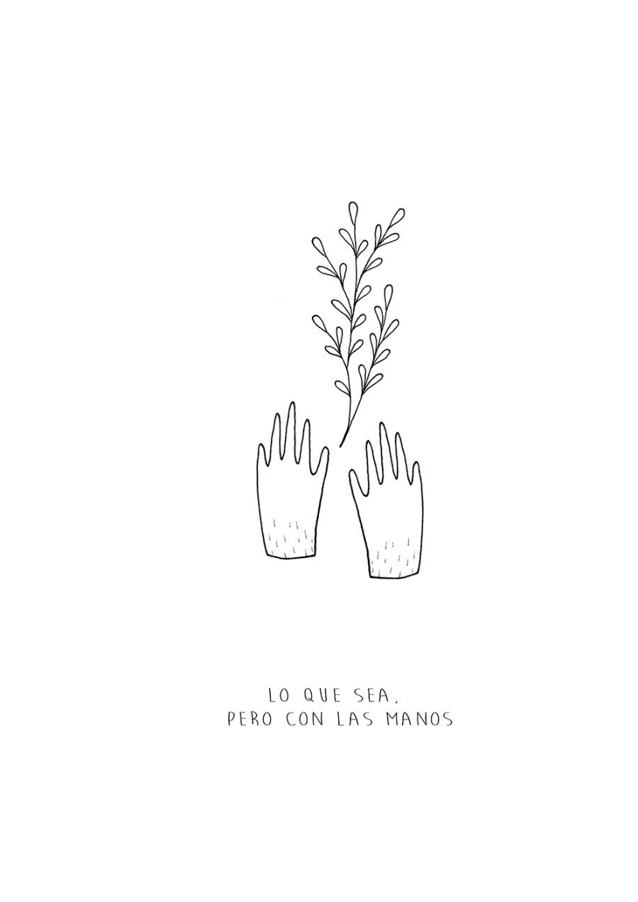 © Laura Rey - Lo que sea pero con las manos